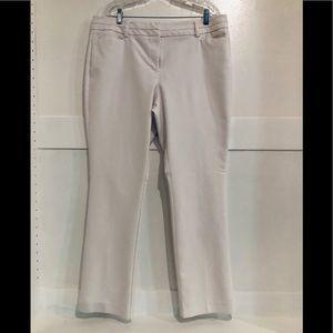 New York & Company White Slacks